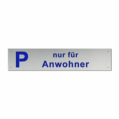 Elegant Parkplatzbeschilderung from Stainless Steel - Various Colours S6333