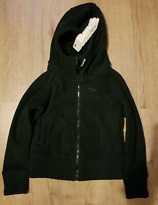 Brand  new authentic Bench 9 hole Fleece Zipped Hoodie Jacket Sz5-6yrs,black