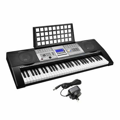 61 Keys Digital Music Electronic Keyboard Electric Piano LCD Display 200 Timbres
