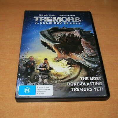 Tremors - A Cold Day In Hell ( Dvd , Region 4 ) Like New
