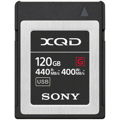 Sony XQD G Series 120GB (QD-G120F) From US