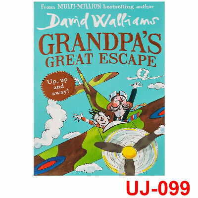 Grandpa's Great Escape by David Walliams Adventure for Children Paperback NEW