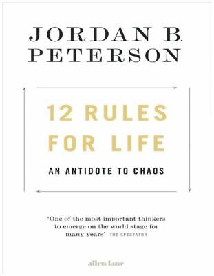 12 Rules for Life 2018 by Jordan B. Peterson [P-D-F]