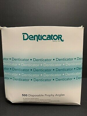 Denticator REF 501350 original Green Disposable Prophy Angles