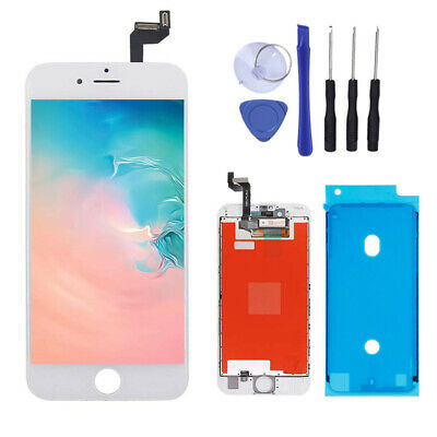 For Apple iPhone 6s A1633 A1688 A1700 Digitizer and LCD Screen Replacement White