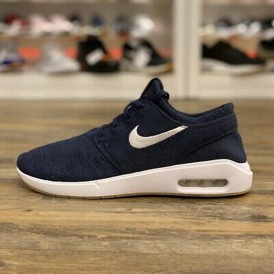 Details about Nike SB Air Max Janoski 2 Mens Obsidian Casual Lifestyle Sneakers AQ7477 401