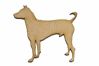 Wooden MDF Animal Dog Mexican Hairless Dog Shapes Bunting Craft Embellishments
