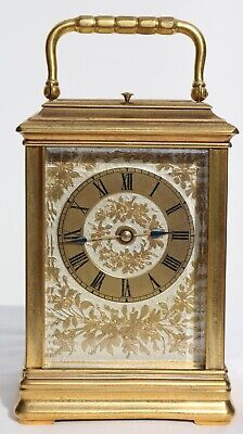 Cannelee Japanese Japonaise repeater carriage clock Brunelot