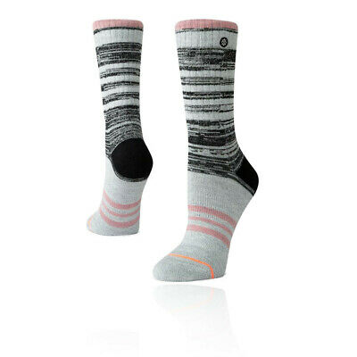Stance Mujer Uncommon Twist Exterior Calcetines - Gris Deporte Transpirable