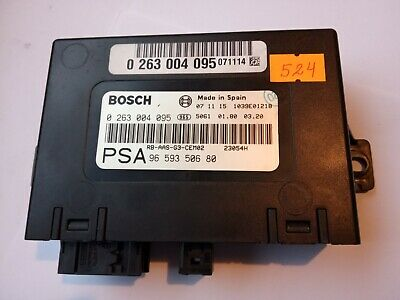 Peugeot 407 Pdc Parking Distance Control Module 9659350680