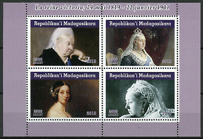 Madagascar 2019 MNH Queen Victoria 200th Birthday 4v M/S Royalty Stamps