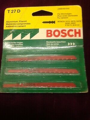 Bosch jig saw blade new pack size off 3 T27D