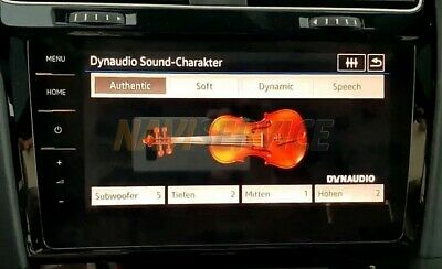 Dynaudio VW Golf 7.5 restyling 2016
