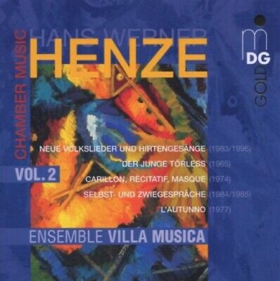 Henze: Chamber Music, Vol. 2; Ensemble Villa Musica (CD, 2006, MDG)