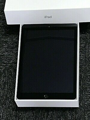 Apple iPad Air 2 128GB Wi-Fi 9.7in Space Grey Retina APPLE BOX A+ GRADE Touch ID