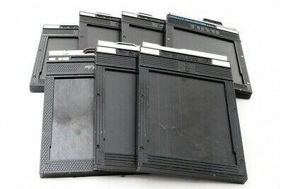 TOYO Cut Film Holder x6 & Fidelity x1 4x5 Large Format [Exc From Japan[4572]