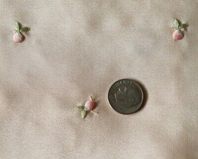 Antique Swiss c1920s Silk Embroidery Samples~Dolls