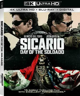 Sicario: Day of the Soldado (DVD, 2018, Includes Digital Copy 4K Ultra HD Blu-r…