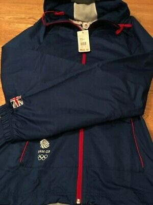 New London Olympic 2012 2Xl Jacket Tracksuit Top Blue Team Gb With Tags