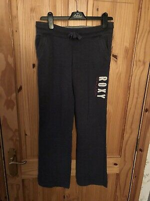 Pair Of Girls Tracksuit Bottoms By Roxy Size Medium