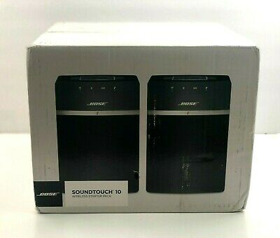 New Bose SoundTouch 10 Wi-Fi Speakers - 2 Pieces, Black
