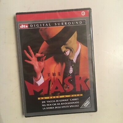 THE MASK DA ZERO A MITO RARO DVD SIGILLATO - fuori catalogo JIM CARREY