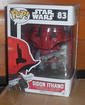 neuf vinyl bobble-head-star wars-sidon ITHANO #83 FUNKO POP