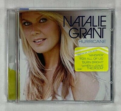 Natalie Grant - Hurricane (CD, Oct-2013, Curb) Brand New Sealed! Free Shipping!