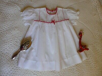 BEAUTIFUL BABY DRESS for FESTIVE SEASON..RED & WHITE for REBORN BABY!!!