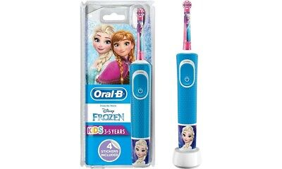 Braun Oral-B STAGES POWER Electric Toothbrush New Frozen pro 90 3 year plus