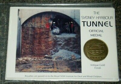 The Sydney Harbour Tunnel Official Medal