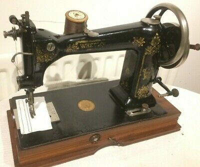 Antique Wheeler & Wilson Number 9 Sewing Machine, Vintage collectable sewing