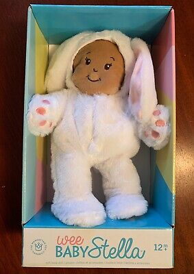 Wee Baby Stella Soft Girl Baby Doll Bunny Outfit Rare Toy New Out Of Package