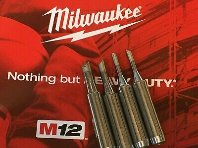 Milwaukee M12 2488-20  Soldering Iron Replacement Assorted Tips 4 X,
