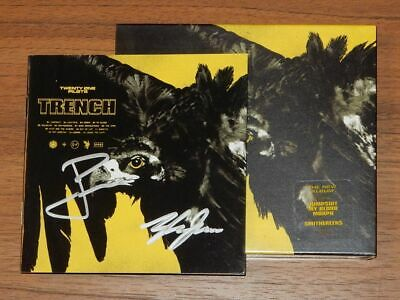 Twenty One Pilots Trench Signed Autographed CD RARE New Sealed
