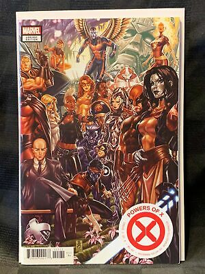 POWERS OF X # 1 Comic BROOKS CONNECTING Cover VARIANT ~ NM Unread 1ST PRINT