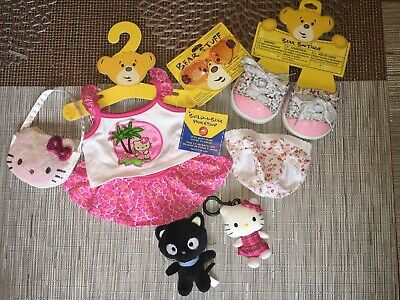 Build a Bear Hello Kitty Outfit & Accessories