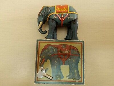 "Blömer & Schuler, ""JUMBO Circus Elephant"",DRGM - Made in Germany"