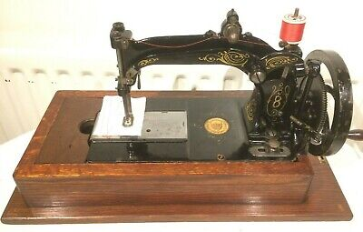 Beautiful Antique 1880s  Wheeler & Wilson 8 Sewing Machine,Collectable Xmas Gift