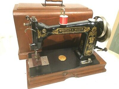 Beautiful Antique Wheeler & Wilson D-9 Sewing Machine