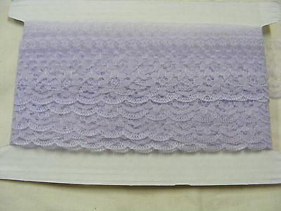Flat Lace Lilac 60mm wide x 10 mts (2231) One Break