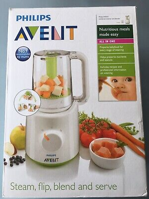 Philips Avent 2-In-1 Healthy Baby Food Maker Combined Steamer/Blender