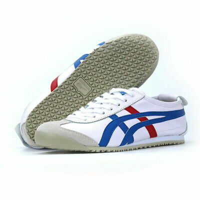New Asics Onitsuka Tiger Mexico 66 Mens Leather Lace Up Casual Shoes Au