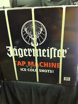 Jagermeister Tap Machine Three Bottle Shot Dispenser Chiller Jemus Brand New