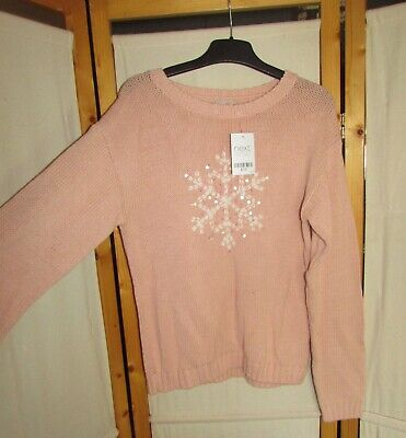 Unwanted Gift Next Jumper Snowflake Design Age 13 Years Brand New With Tags