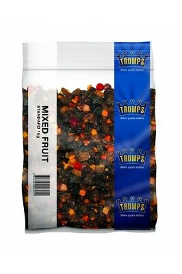 DRIED MIXED DRIED FRUIT 3 x  1KG - FREE POST
