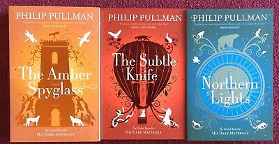 His Dark Materials Trilogy By Philip Pullman Paperback Books In Box