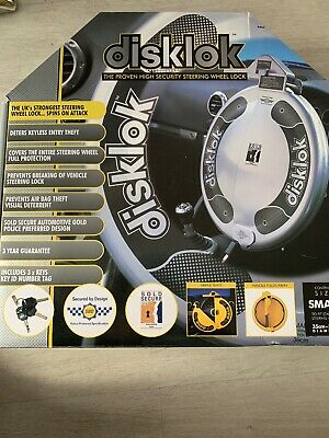 disklok steering wheel lock small