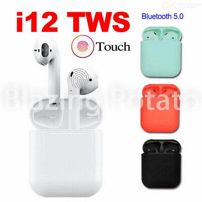 NEW i12 TWS Bluetooth 5.0 Headset Wireless Earbuds Headsets Earphones - USA