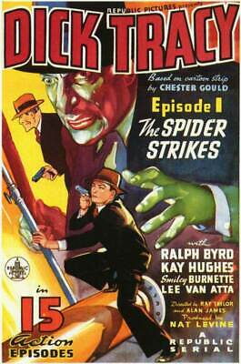 """16mm Feature Film """"Dick Tracy""""  1937"""